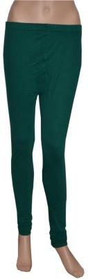 Pezzava Women's Dark Green Leggings