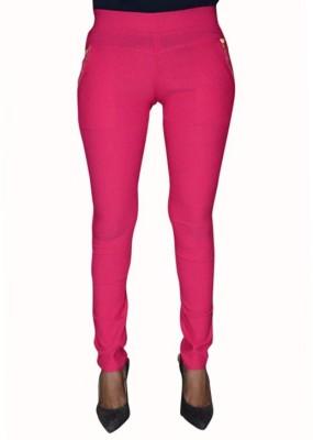 Back Eye Women's Pink Jeggings
