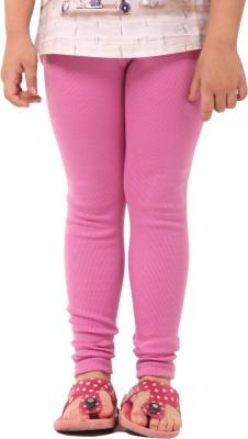 Vostro Moda Girl's Pink Leggings