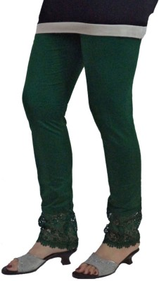 BikeNwear Women's Dark Green Leggings