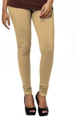 Deskjet Women's Beige Leggings