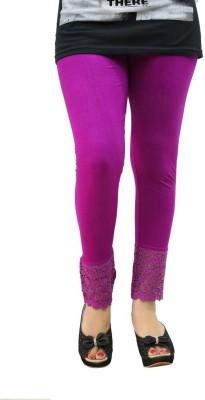 Fashionkala Women's Purple Leggings