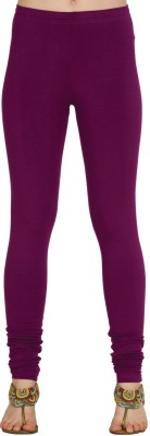 Xora Women's Purple Leggings