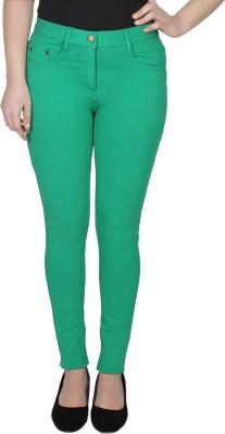 Jepp Women's Green Jeggings