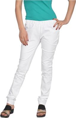 Fashion Club Women's White Jeggings