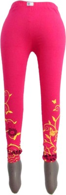 Revinfashions Women,s Pink Leggings