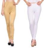 Body Size Women's White, Beige Leggings ...