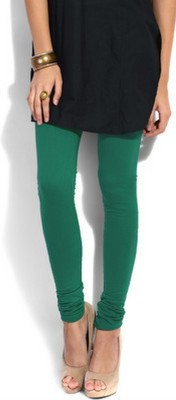 JRS Fashion Women's Light Green Leggings