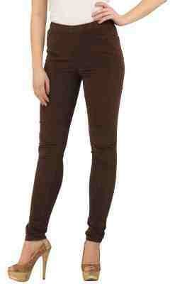 Sakal Enterprises Women's Brown Leggings