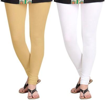 AF Sayonara Women's Beige, White Leggings
