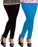 Navyamall Women's Black, Light Blue Legg...