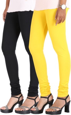 Greenwich Women,s Black, Yellow Leggings