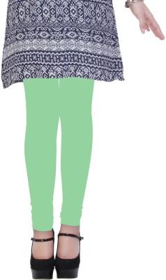 Kimayaa Women's Light Green Leggings