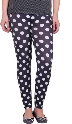 Urban Street Women's Black, White Treggings