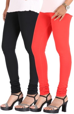 Greenwich Women,s Black, Red Leggings