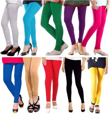Nitai Enterprises Girl's Multicolor Leggings