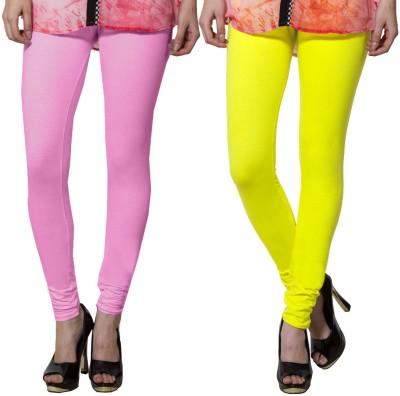 Both11 Women's Yellow, Pink Leggings