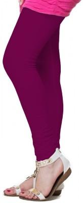 OrganicO Women's Purple Leggings