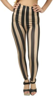 Glam Quotient Women's Black Leggings