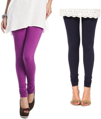 Rupa Softline Women,s Blue, Purple Leggings