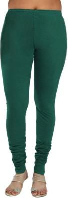 Rasi Silks Women's Dark Green Leggings