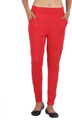 Notyetbyus Women's Red Jeggings