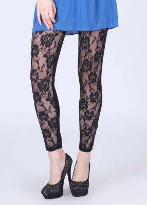 N-Gal Women's Black Leggings