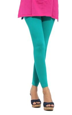 S Vaga Women's Green Leggings