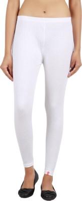 Notyetbyus Women's White Leggings