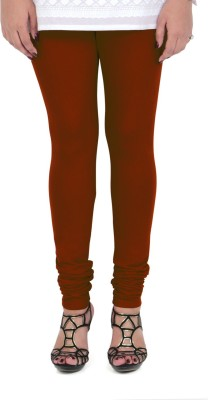 Vami Women's Maroon Leggings