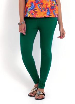 Indiwagon Women's Dark Green Leggings