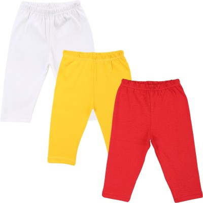 Color Fly Baby Girl's Red, White, Yellow Leggings
