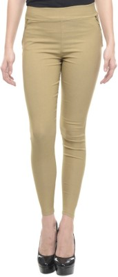 Dimpy Garments Women,s Beige Jeggings