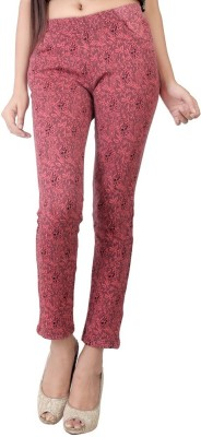 Bottoms More Women's Pink Jeggings