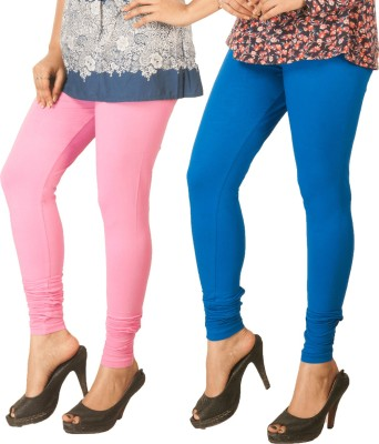 Berries Women's Pink, Blue Leggings