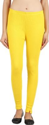 Notyetbyus Women's Yellow Leggings