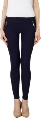 Ansh Fashion Wear Women's Blue Jeggings
