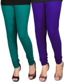 WCTrends Women's Purple, Light Green Leg...