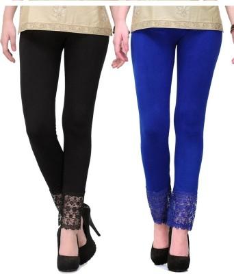 MDS Jeans Women's Blue, Black Leggings