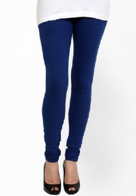 Lasunj Women's Blue Leggings
