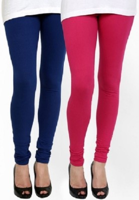 Lasunj Women's Blue, Red Leggings