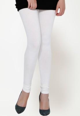 Dream Fashion Women's White Leggings