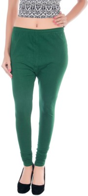 Esspee Women's Light Green Leggings