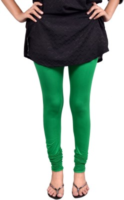 Anuradha Women,s Dark Green Leggings
