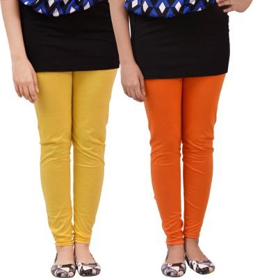 carrol Women's Yellow, Orange Leggings