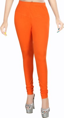 Rivory Bros Women's Orange Leggings