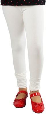 Naughty Ninos Girl's White Leggings