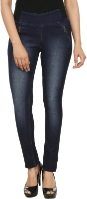 Fashion Cult Women's Dark Blue Jeggings