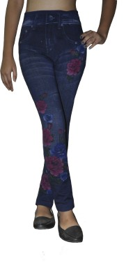 Srija,S Collection Women's Blue Jeggings