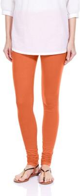 Lavos Women's Orange Leggings